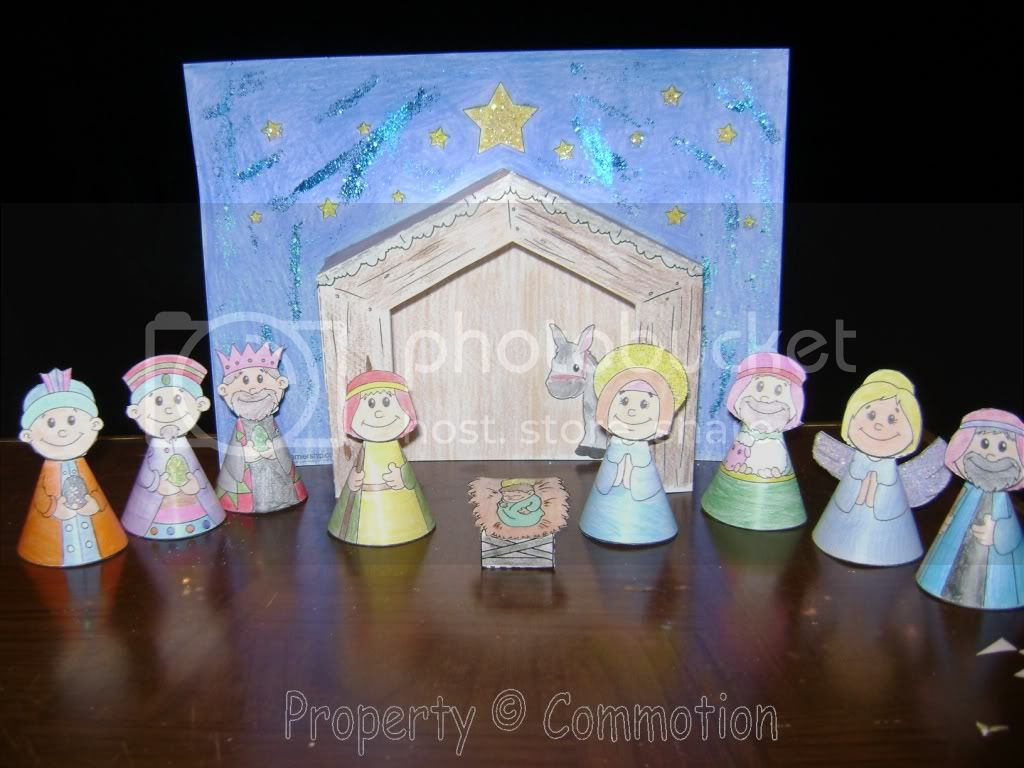 Nativity Craft by Miss K